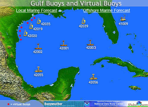Interactive Gulf Buoy Map