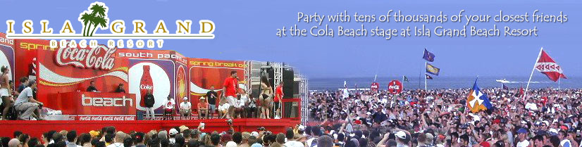 Coca Cola Beach South Padre Island Spring Break Radisson Resort Party