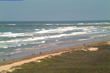 South Padre Surf Cam featuring dailiy updated surf and beach report