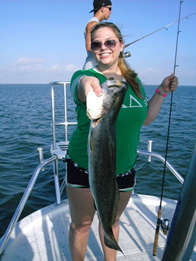 bay fishing charter