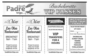 Book your all-inclusive  bachelor and bachelorette parties with South Padre Trips