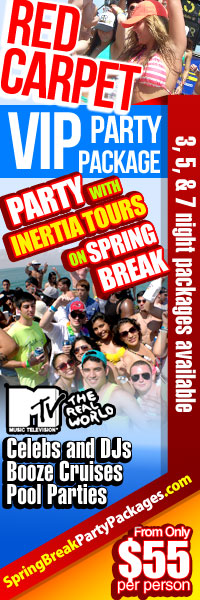 Inertia Tours Spring Break 2012 Discount Packages Cheap