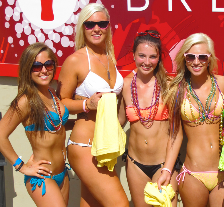 Are circuit girls bikini contest just love