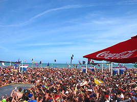Coca Cola Beach South Padre Island Spring Break