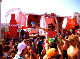 Coca Cola Beach at the Isla Grand