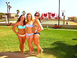 Girls in Bikinis South Padre Island spring break