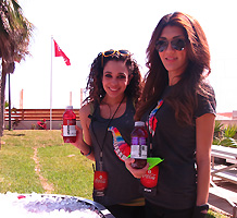Vitamin Water girls spring break South Padre