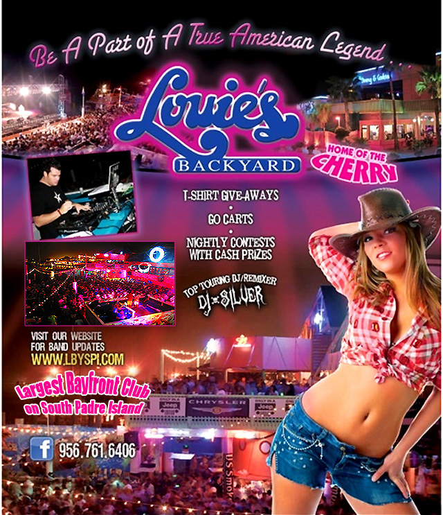 Louie's Backyard Spring Break 2014 South Padre Island Nightlife