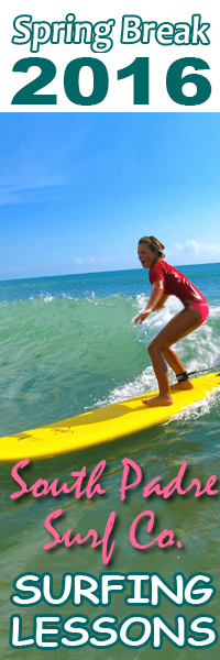 surfing lessons with South Padre Surf Company.  Spring break discount - half price surfing lessons in South Padre Island
