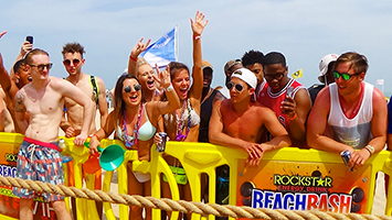 Roclstar Energy Drink Beach Bash Spring Break South Padre