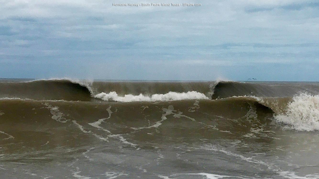 South Padre Island With Hurricane Harvey