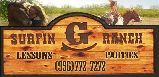 Surfin G Ranch - birthday parties, horseback riding, horse training, horse hotel near South Padre Island