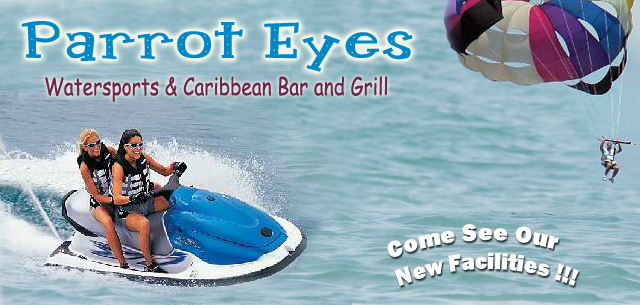 Parrot Eyes Watersports on South Padre Island