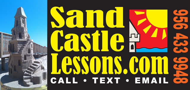 Sand Castle Lessons on South Padre Island
