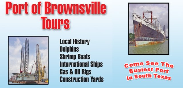 Port Of Brownsville Tours (956)761-4243