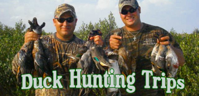 Duck Hunting Trips by Blast to Cast Guide Service (956)243-0039