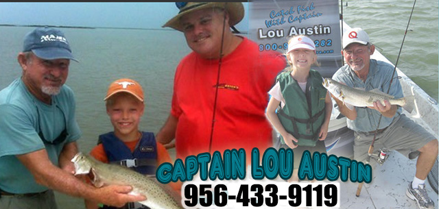 Austin Fishing Charters - Captain Lou Austin 1-800-943-6282
