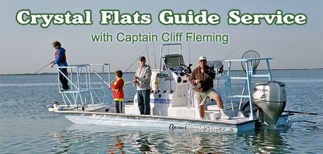 Crystal Flats Guide Service - Captain Cliff Fleming 956-346-0140
