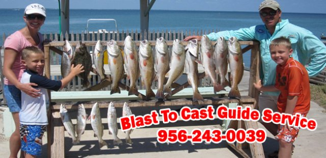 Blast to Cast Guide Service - Captain Mike Knox (956)243-0039