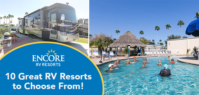 Encore RV Parks South Texas RV Resort