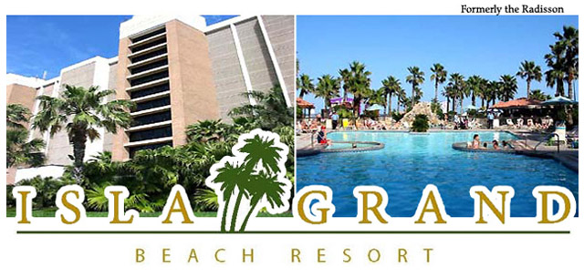 South Padre Island Beach Front Resort - The Isla Grand