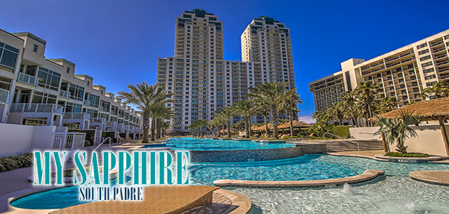 My Sapphire South Padre Luxury Beach Vacation Rentals