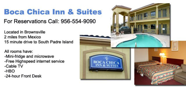 Boca Chica Inn and Suites (956)554-9090