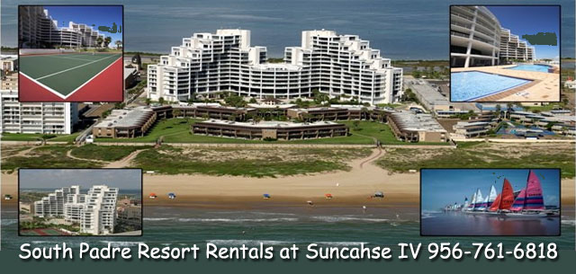 South Padre Resort Rentals at the Sunchase IV luxury beachfront condominiums
