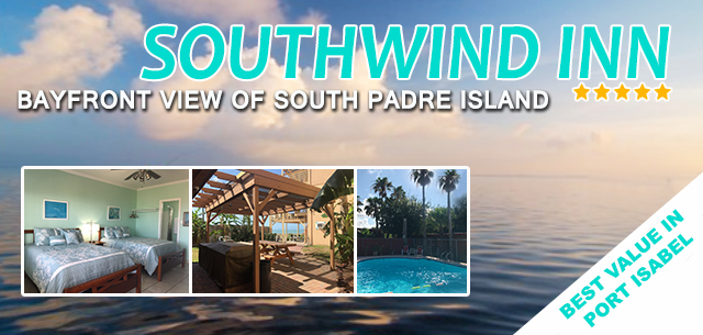 Southwind Inn Hotel best value in Port Isabel Texas