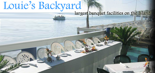 Louie's Backyard (956)761-6406