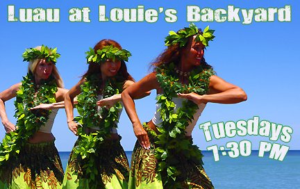 Luau at Louie's Backyard