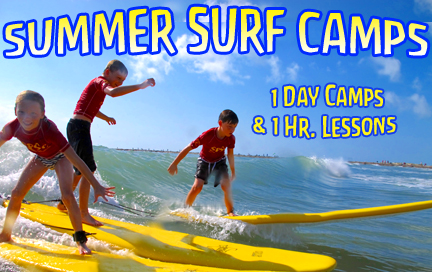 Surf Lessons and Surf Camps