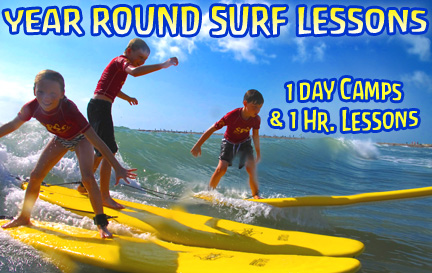 Surfing Lessons and Surf Camps