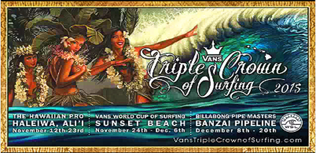 2015 Vans Triple Crown of Surfing