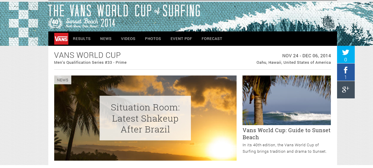 Sunset Beach World Cup