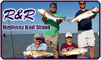 R and R Hi Way Bait Stand Fishing Charters