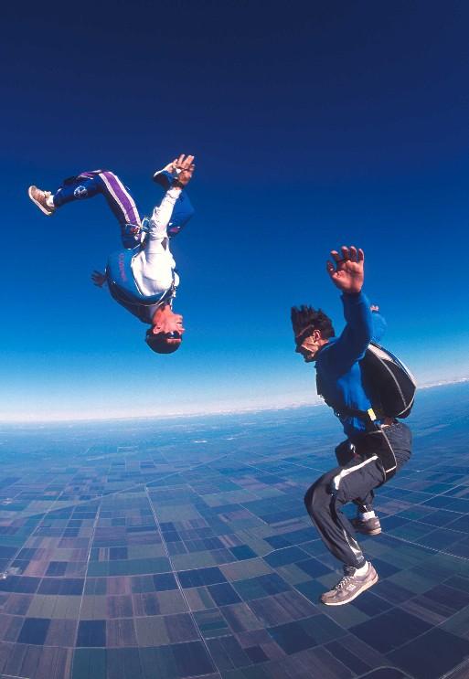 saut free fly