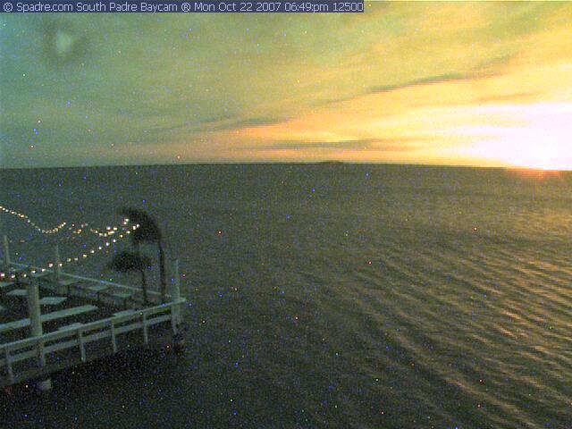 South Padre Island webcam - South Padre Bay Cam  webcam, Texas, Cameron County
