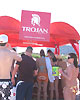 Trojan booth at the Radisson