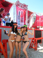 coca cola beach stage