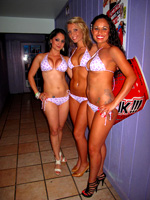 Victoria's Secret Bikini Contest at Louie's Backyard