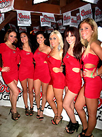 Coors Light Girls at the Isla Grand