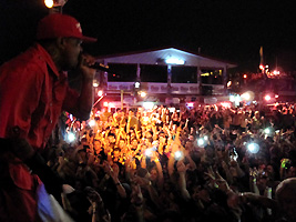 3 six Mafia concert South Padre Island