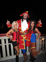 Captain Morgan at the Inertia Tours party