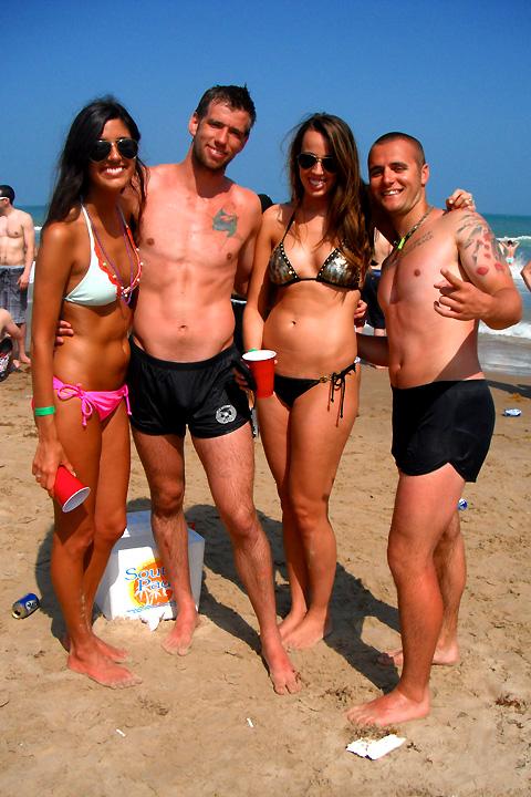 Coca Cola Beach - South Padre Island Spring Break -4395