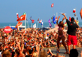 Coca Cola Beach Party South Padre Island