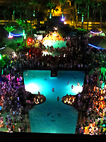 Isla Grand and Inertia Tours pool party