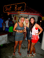 Shot Bar at the Isla Grand
