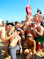 Coca Cola Beach party