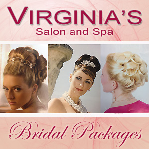 Virginia's Salon and Spa for your wedding salon and spa needs